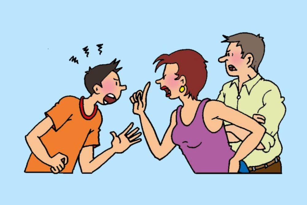 ruzie puber met ouders