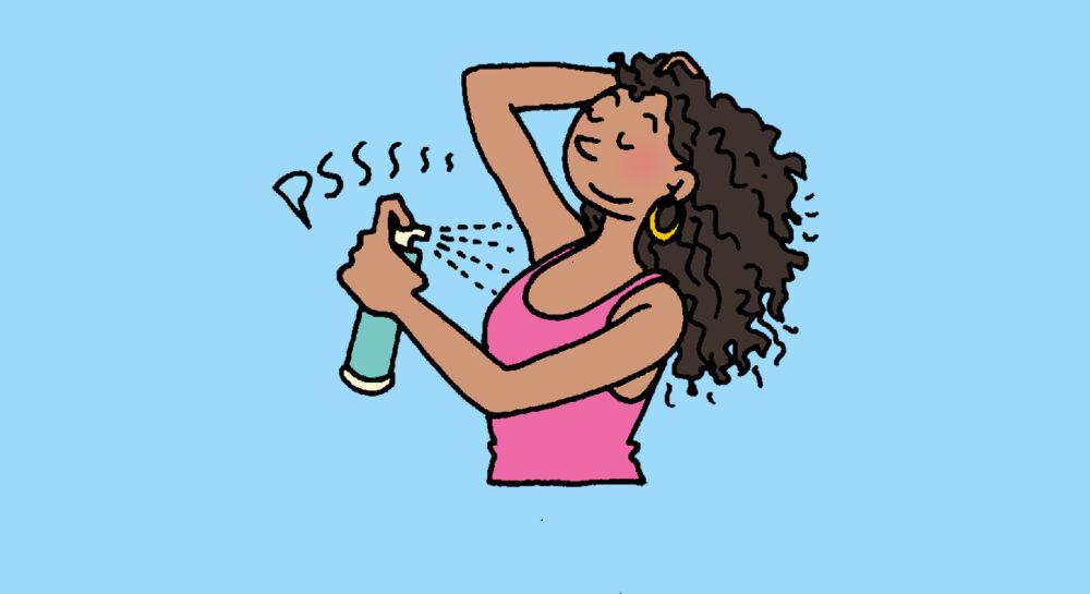 zweet en deodorant